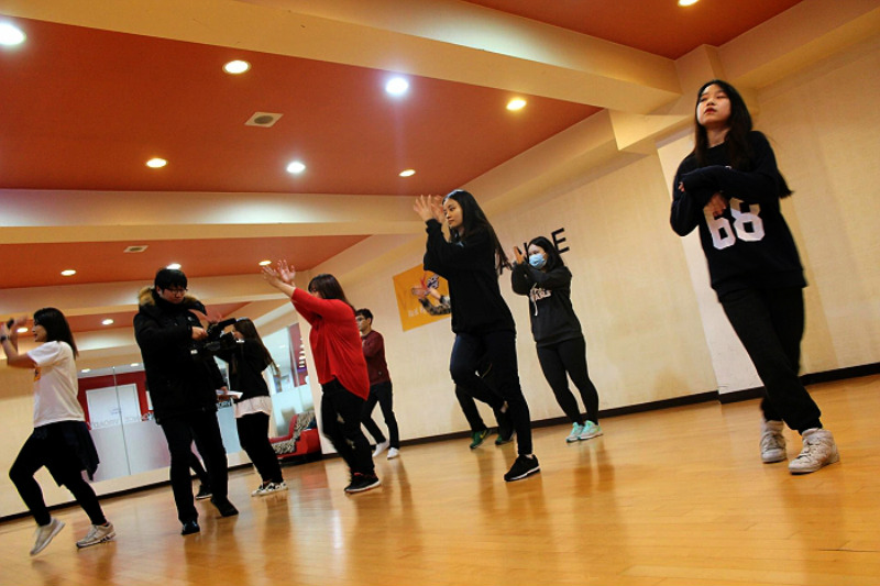 latihan dance k-pop